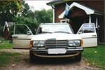 Mercedes-Benz 200 1985 Elfenben
